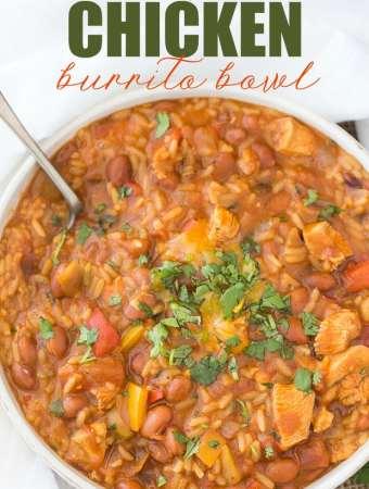 One-Pot Chicken Burrito Bowl
