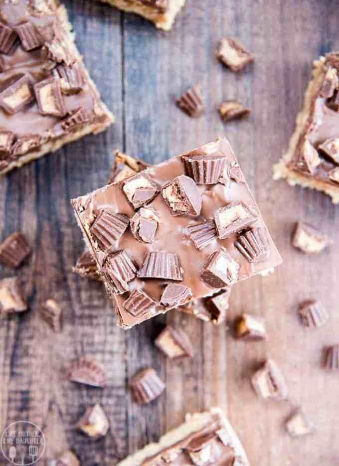 Peanut Butter Cup Rice Krispie Treats Recipe