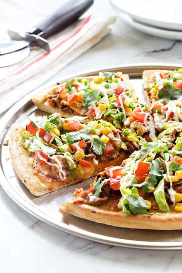 Taco Pizza Pie