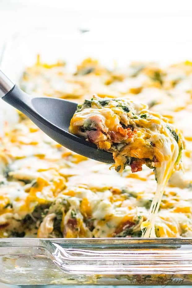 Chicken Bacon Ranch Casserole--Part of The Best Chicken Bacon Ranch Recipes