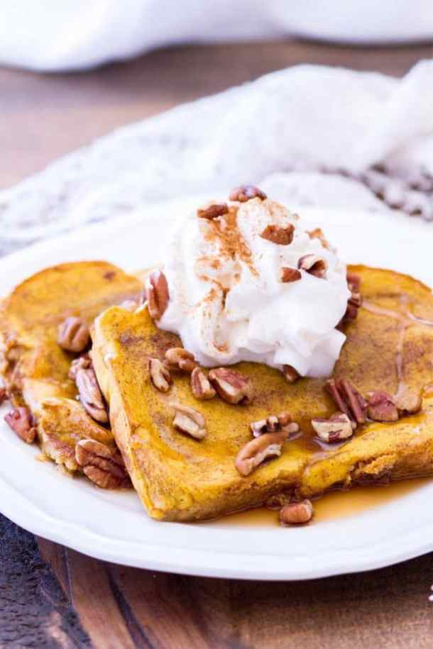 Baked Pumpkin French Toast--Part of The Best French Toast Recipes