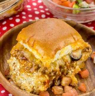 Cheesy Taco Sliders