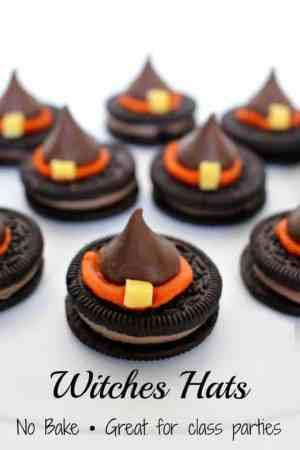 Halloween Witch Hat Cookies Recipe
