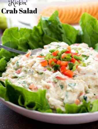 Kickin Crab Salad