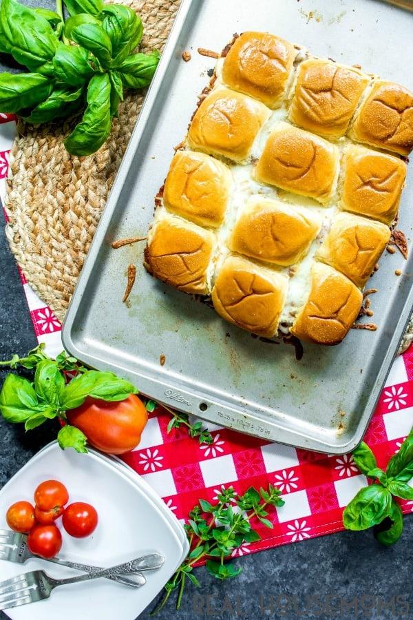 Lasagna Sliders Recipe