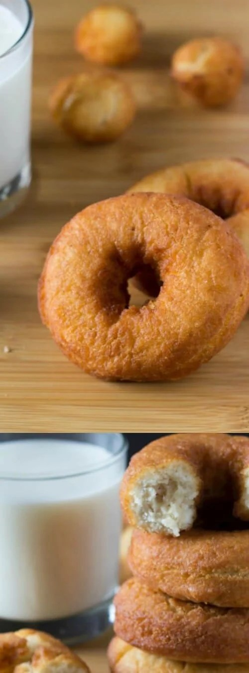 Old-Fashioned Cake Doughnuts