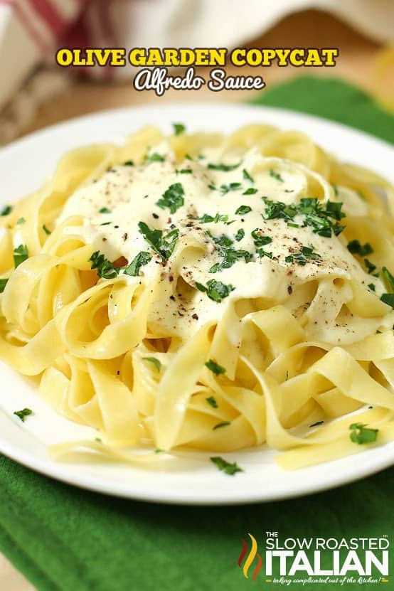 Olive garden copycat alfredo sauce the best blog recipes - Olive garden chicken alfredo sauce recipe ...