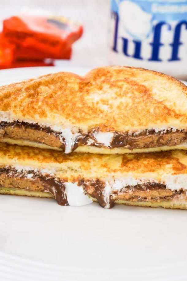 Peanut Butter Cup French Toast--Part of The Best French Toast Recipes