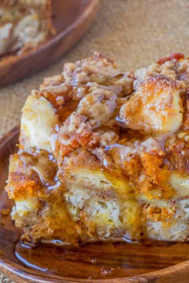 Pumpkin French Toast Bake--Part of The Best French Toast Recipes
