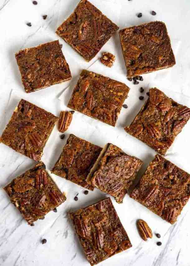SLAB PECAN PIE BARS Recipe