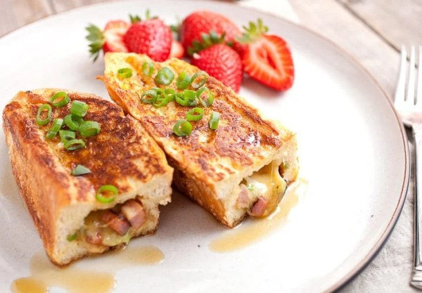 Savory Stuffed French Toast--Part of The Best French Toast Recipes