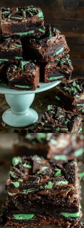 Ultimate Mint Brownies