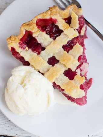 Deep Dish Cherry Pie