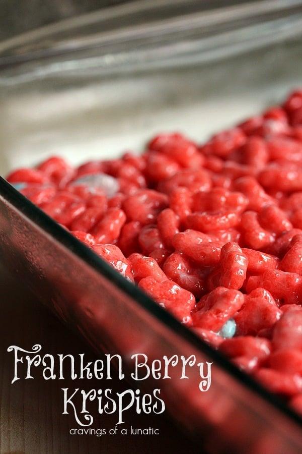 Franken Berry Krispies Recipe