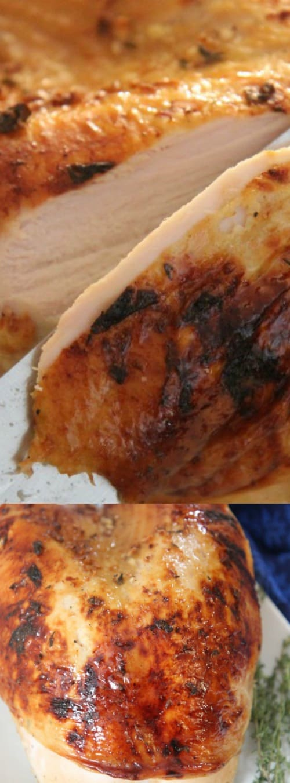 Maple Glazed Turkey Breast