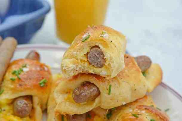 Sausage Crescent Rolls Recipe