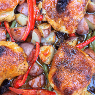 Sweet Fire Chicken and Vegetables