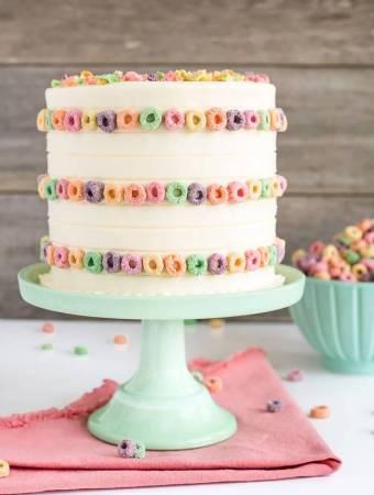 Fruit Loops Cake