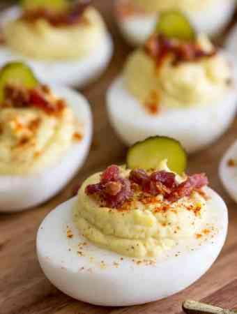 Million Dollar Deviled Eggs