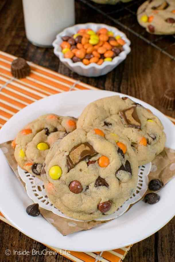 Reeses Peanut Butter Pudding Cookies