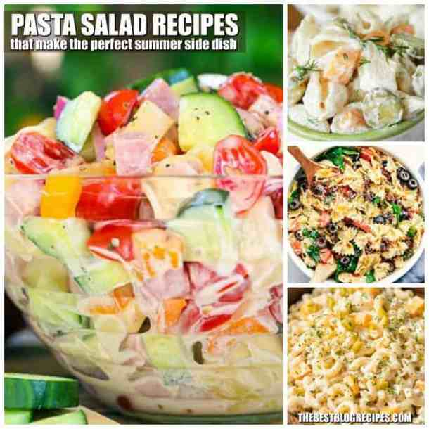 Pasta Salad Recipes that make the PERFECT Summer Side Dish