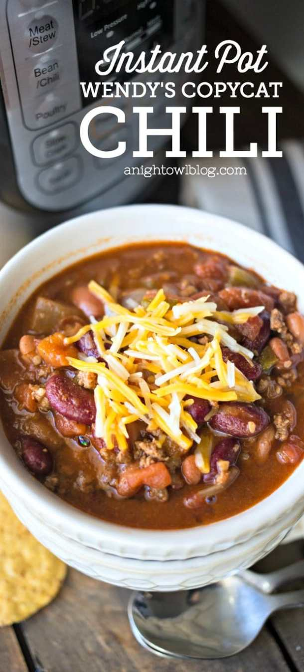 Wendy's Copycat Chili -- Part of our Old Fashioned Recipes just like grandma made!