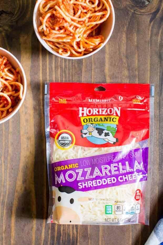 Horizon Organic Shredded Mozzarella