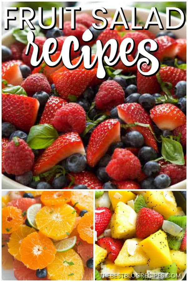 For every occasion, you need the Best Fruit Salad Recipes! With fresh, tart, and sweet flavors, these fruit salad recipes will be your new favorites all year round!