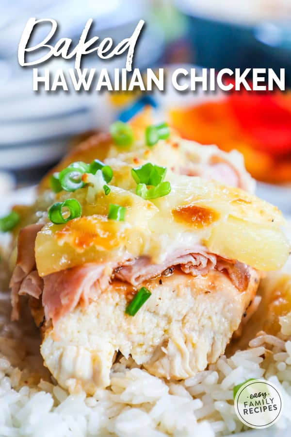 Easy Baked Hawaiian Chicken