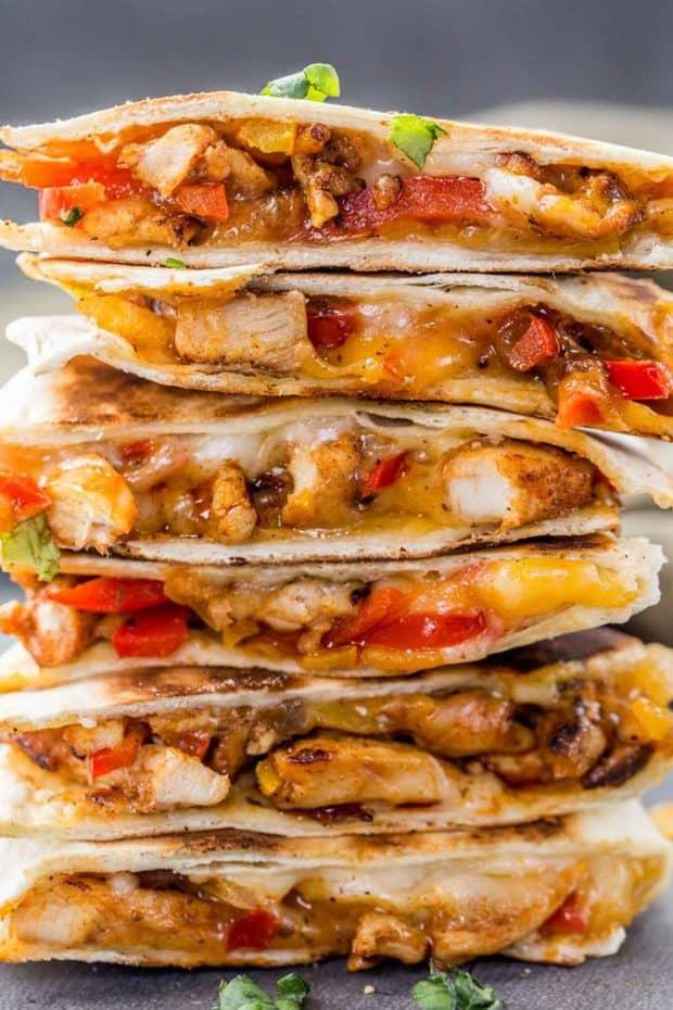 Chicken Fajita Quesadilla