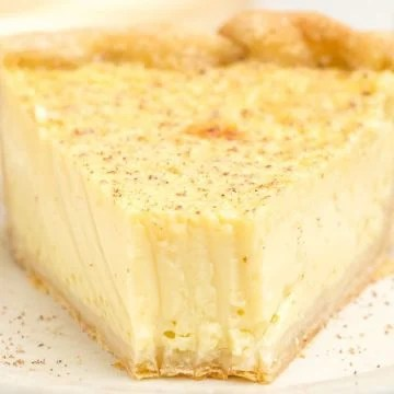 Custard Pie slice