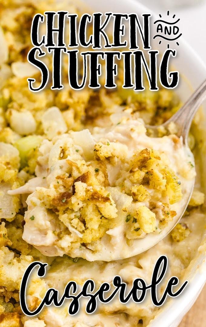 Chicken and Stuffing Casserole