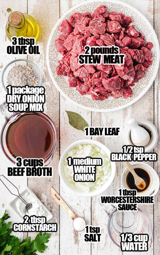 Beef Tips Ingredients