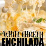 White Chicken Enchilada Skillet