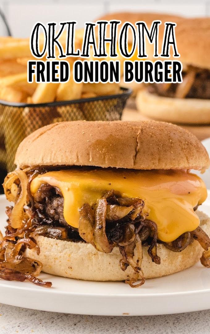 Oklahoma Fried Onion Burger