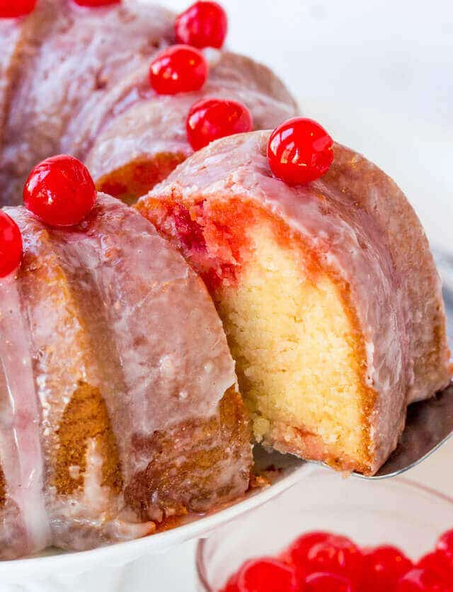 Relive Your Childhood Memories With This Easy Shirley Temple Cake Made In A Bundt Pan