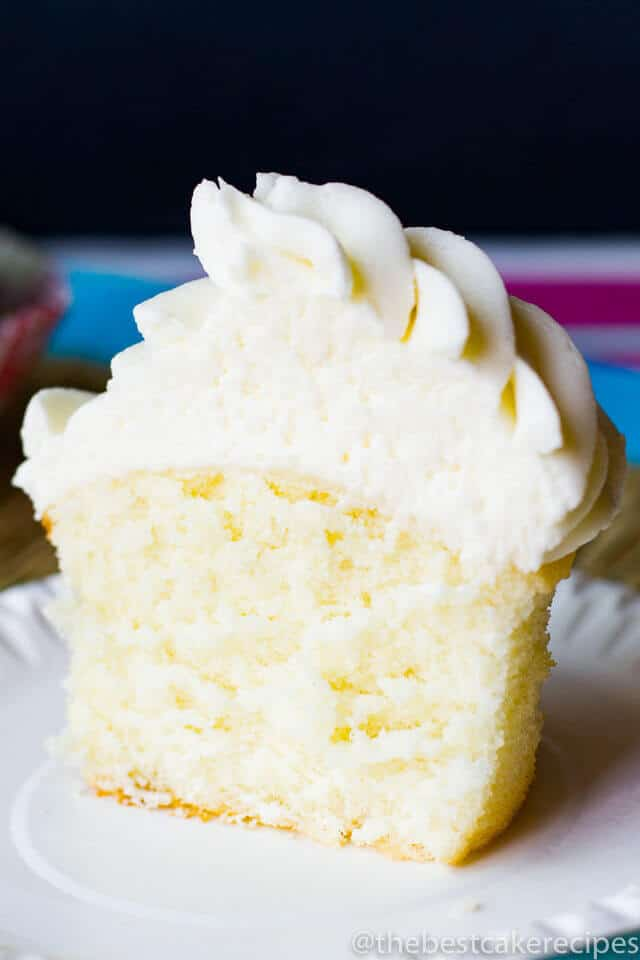 Homemade buttercream is easier than you think! You'll never go back to storebought once you get a taste of this easy vanilla buttercream recipe.