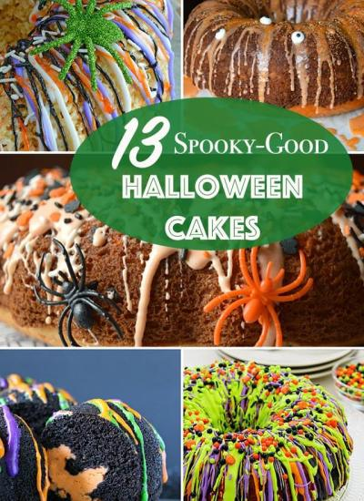 13 Spooky-Good Halloween Cake Recipes