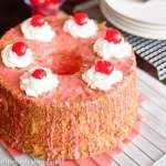 maraschino cherry angel food cake recipe