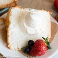 easy angel food cake recipe
