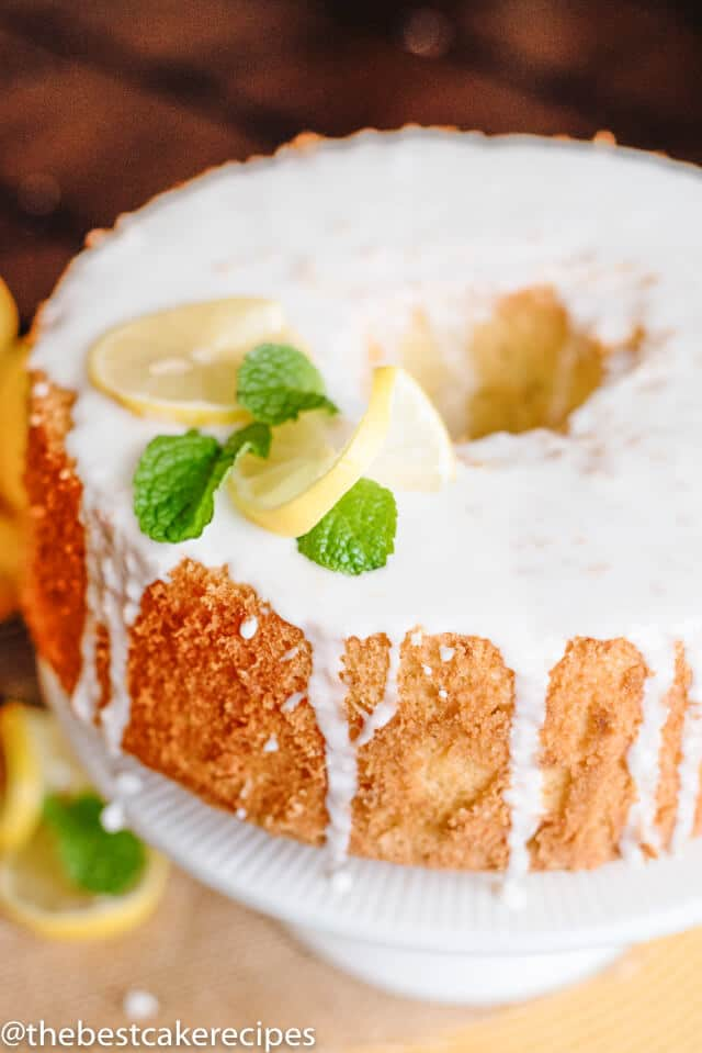 how to make lemon chiffon cake