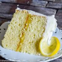 Lemon Cake From Scratch