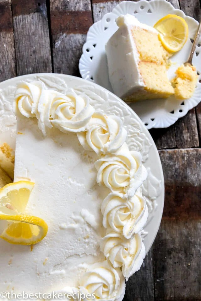 Lemon Cake From Scratch Recipe With Lemon Curd Filling
