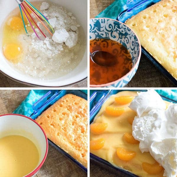 jello and pudding poke cake