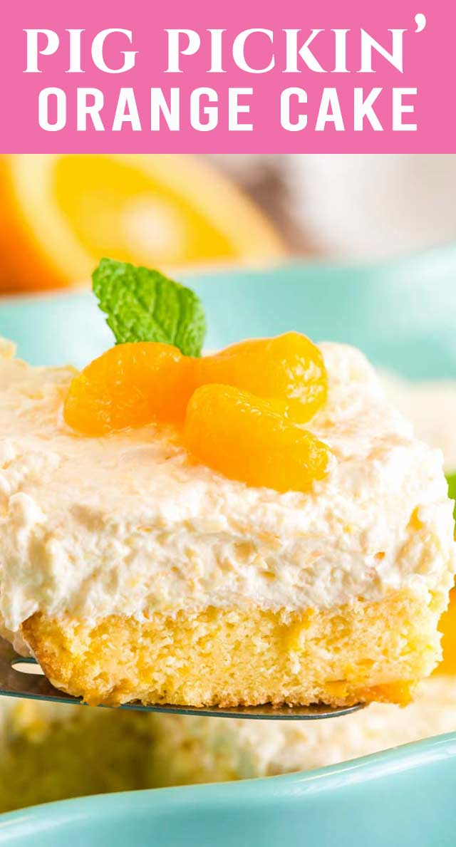 No one will believe this cake starts with a cake mix! Best ever Mandarin Orange Cake is one of the easiest cake recipes. It's light and fruit-filled...delicious! via @thebestcakerecipes