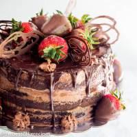 chocolate blackout cake tutorial