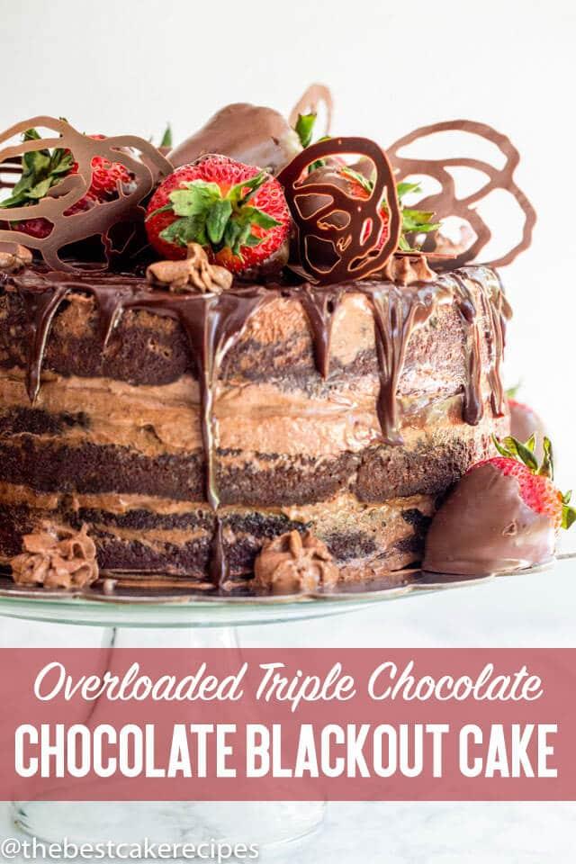 chocolate blackout cake title image