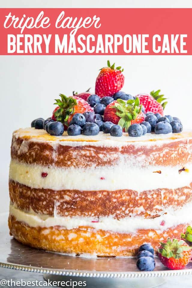 berry mascarpone cake title image