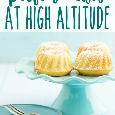 High Altitude Cake Baking