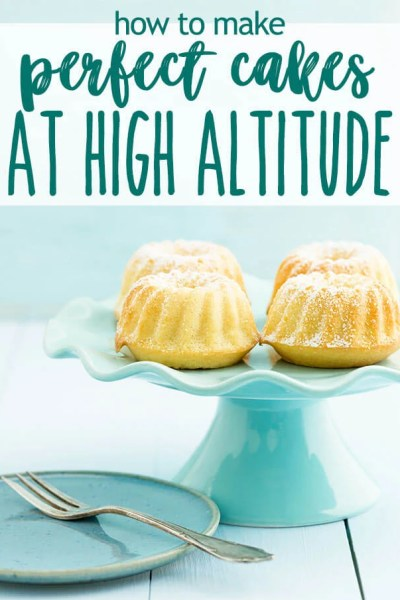If you're struggling with baking the perfect cake at high altitudes, here are some high altitude adjustments and baking hints.